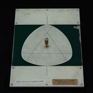 Various curves of constant width
