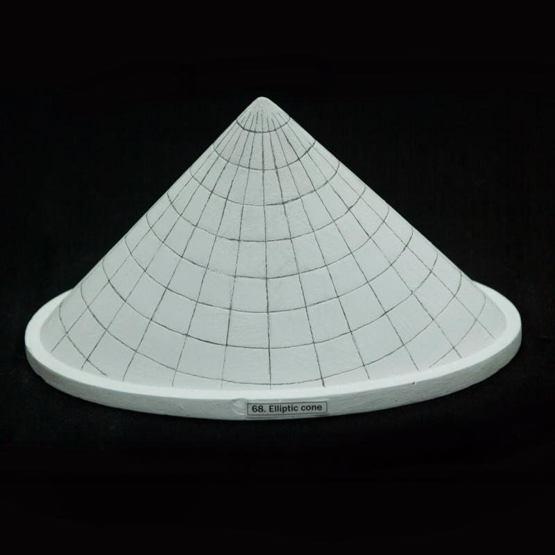 Elliptic cones